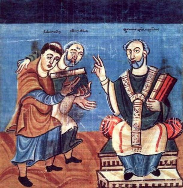 Alcuin was one of the leading scholars of the Carolingian Renaissance.