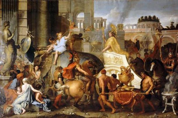 'Entry of Alexander into Babylon' (1665) by Charles Le Brun. (Public Domain)