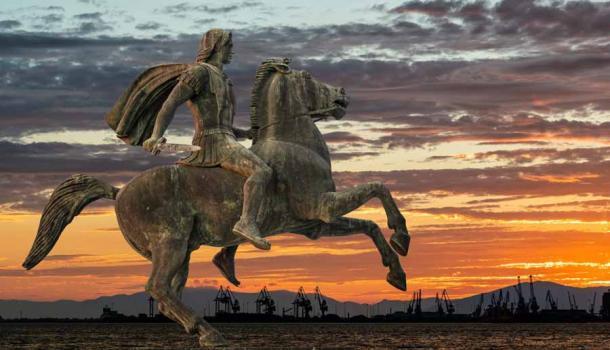 Alexander the Great at Thessaloniki City, Greece (Lambros Kazan / Adobe Stock)