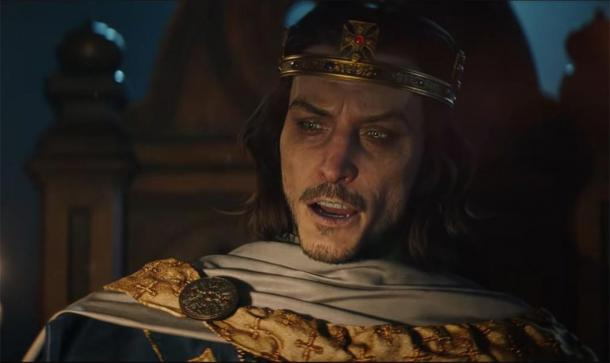 King Alfred of Wessex also makes an appearance in the trailer for the new Assassin's Creed video game. (Ubisoft)