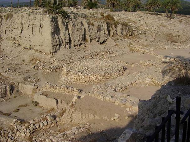 Circular altar-like shrine from the Early Bronze Age, Megiddo, Israel.