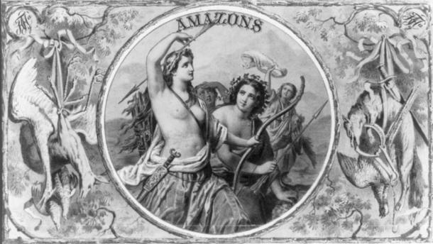 Amazons after a hunt