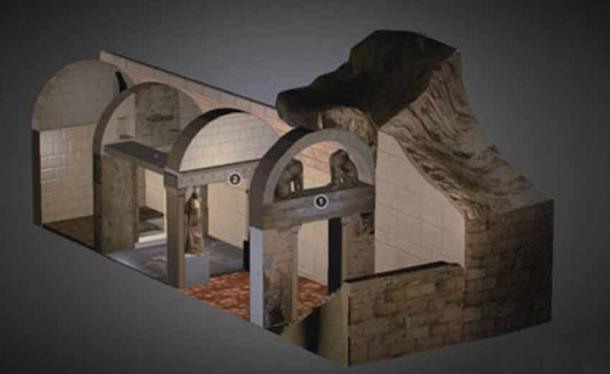 Spectacular Macedonian tomb and human remains unearthed in Amphipolis