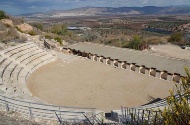 The amphitheater at Sepphoris