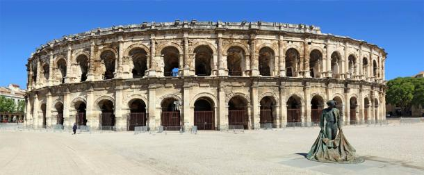 The Roman amphitheater in Nimes, one of the largest in the empire (lamax / Adobe Stock)