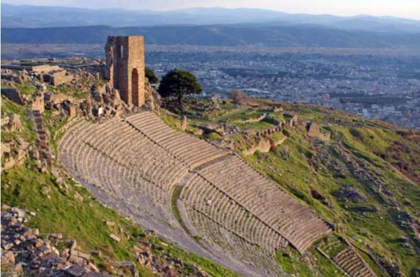 The huge amphitheater at Pergamon that rivalled the finest Greek versions of such theaters in that era. (Ekaterina Ufimtseva / Adobe Stock)