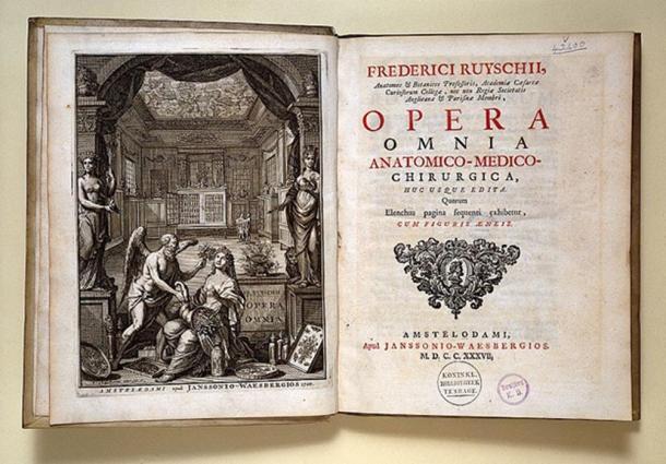 F. Ruysch, Opera omnia anatomico-medico.