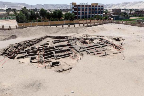 An ancient beer factory has been discovered at Abydos in Egypt