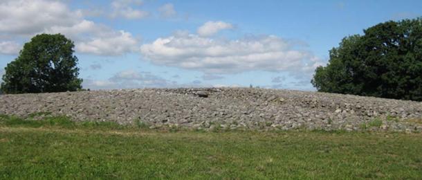 The ancient burial site at Kivik