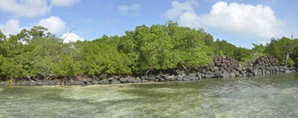 The ancient city of Nan Madol was built atop a coral reef.