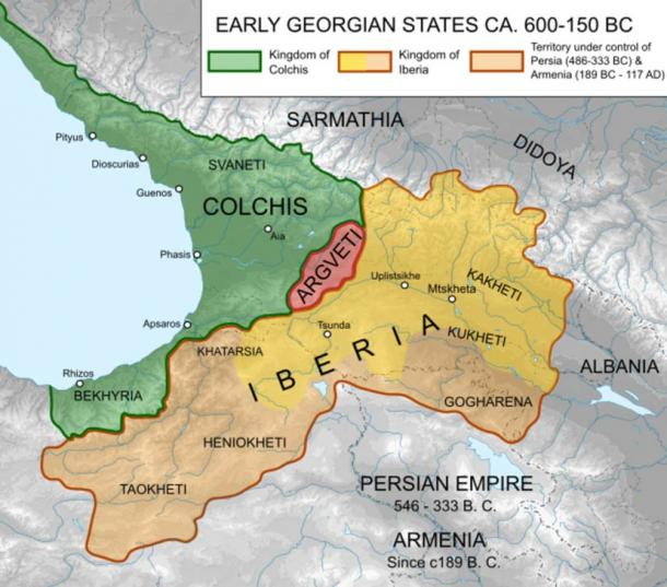 The ancient land of Colchis