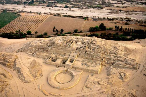 The ancient ruins of Caral, Peru