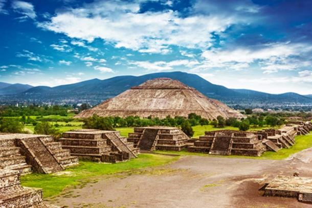 The ancient site of Teotihuacan. Source: BigStockPhoto