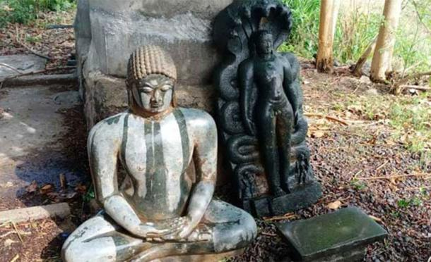 Ancient Jain statues have been excavated in the area. (Telangana Today)