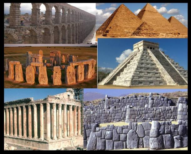 The most ancient stone structures are the most advanced.