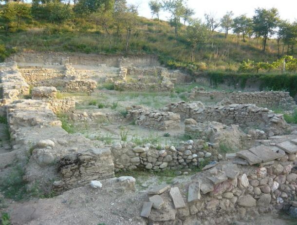 The ancient town of Tauresium, the birthplace of Justinian I, located in today's Republic of Macedonia