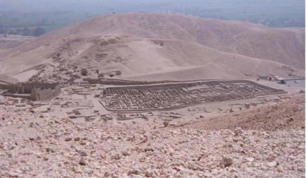 The ancient village of Deir el-Medina
