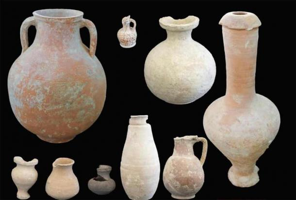 These pots were also found at the ancient Alexandria settlement and indicate that it was a major regional trade center during the Ptolemaic period (305-30 BC). (Egyptian Ministry of Tourism and Antiquities)