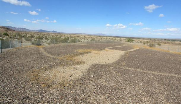 The anthropomorphic geoglyphs of the Colorado Desert are now protected with fences