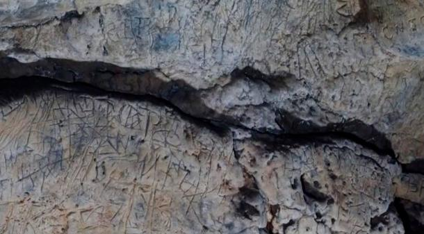 Hundreds of anti-witch marks have been found in caves at Creswell Crags.