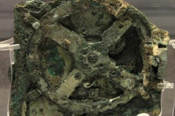 The Antikythera Mechanism is a 2000-year-old mechanical device used to calculate the positions of the sun, moon, planets, and even the dates of the ancient Olympic Games.