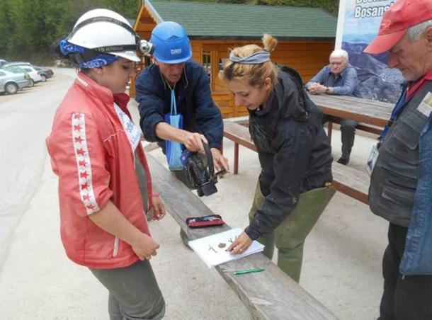 Archaeological Team at the Bosnian Pyramids