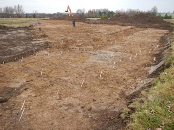 The archaeologists have not yet discovered what the site was used for.
