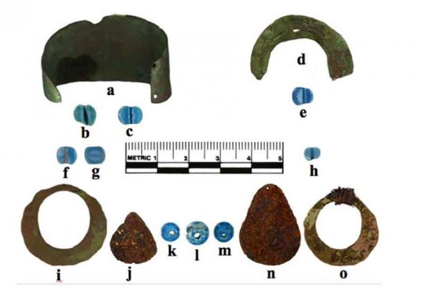 These pre-Columbian artifacts found in Alaska are the oldest European-made items ever discovered in North America. (M. L. Kunz et al. / American Antiquity)