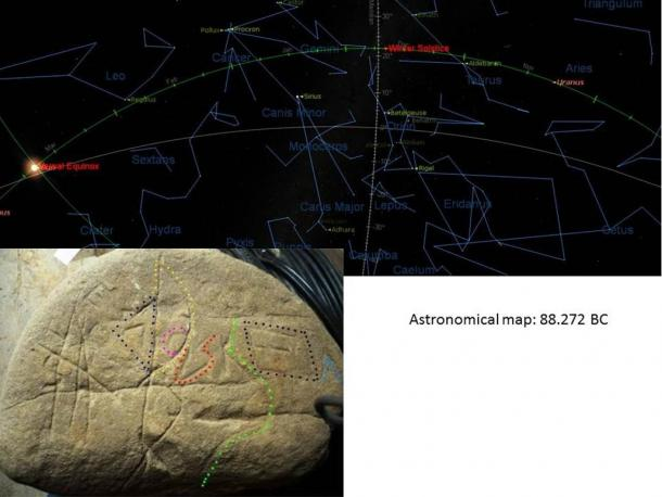 Astronomical map