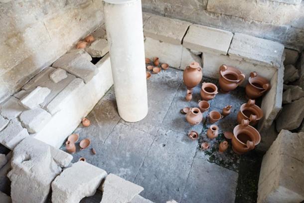 A tomb of athletes at Taranto