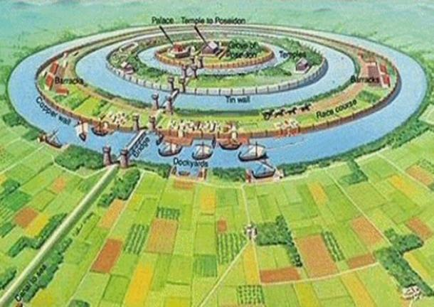 Artist's concept of Atlantis