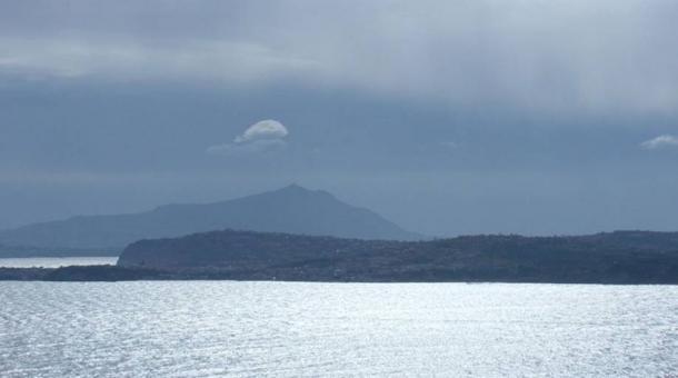 Baiae (Baia) across the Bay of Naples
