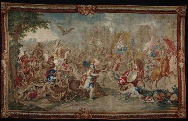 Battle of Arbela, also known as the Battle of Gaugamela (1660-1672) by Charles Le Brun. (Public Domain)