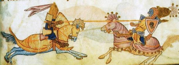 The Battle of Arsuf is famous as the encounter between Richard the Lionheart and Saladin. (Public domain)