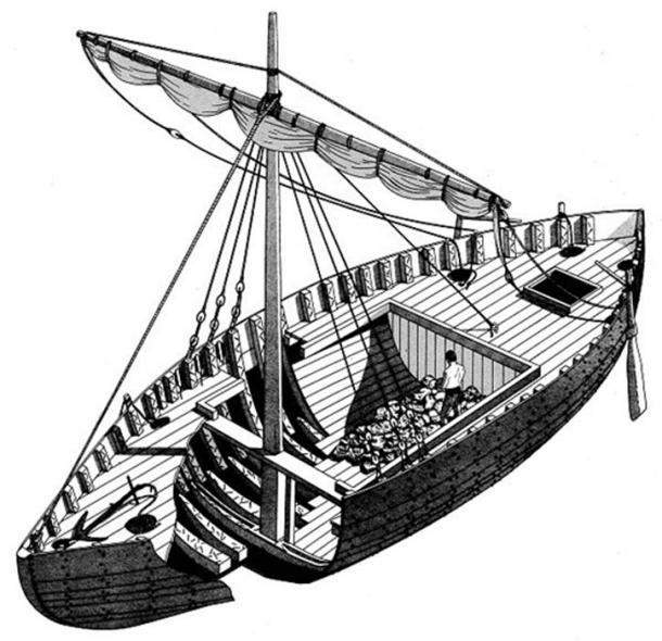 Ancient trade vessel