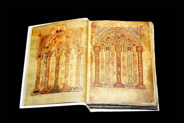 Another famous Irish medieval book: The Book of Kells. (Warren Rosenberg / Adobe Stock)