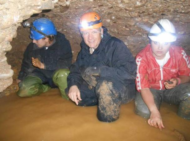 Working in the tunnels of the Bosnian Pyramid