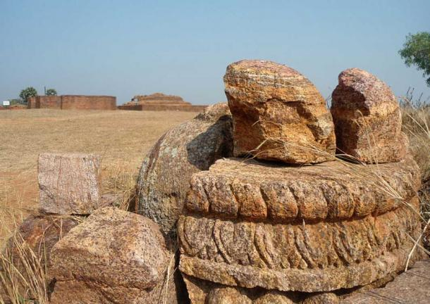 Buddhist remnants at Thotlakonda monastic complex, Visakhapatnam. (CC BY-SA 3.0)