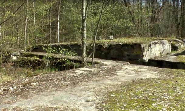 The bunker in Poland where the Amber Room may be located.