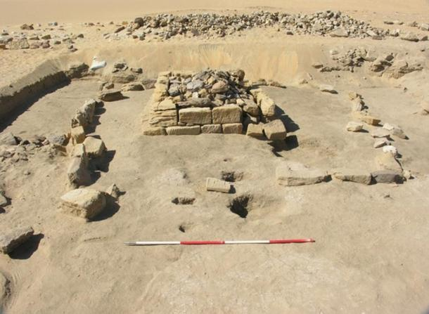 Archaeologists uncovered a burial chamber holding the remains of three infants. It was the only pyramid burial left undisturbed by looters.