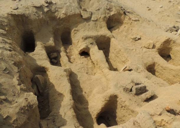 The burials in the Fag el-Gamous necropolis are extremely dense, leading researchers to conclude that there are over 1 million interments in the 300 acre-cemetery