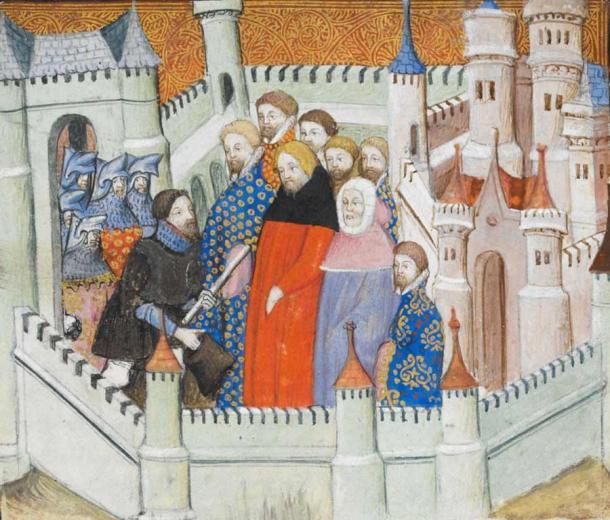 The capture of King Richard II. (Public domain)