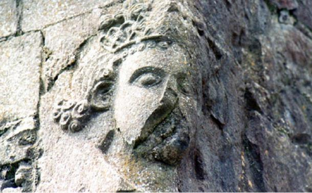 A carving of Cathal, who is often regarded as the last 'great' king of Connacht