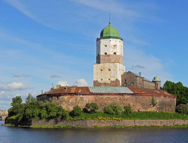 13th century Vyborg Castle, Russia. (CC BY-SA 3.0)
