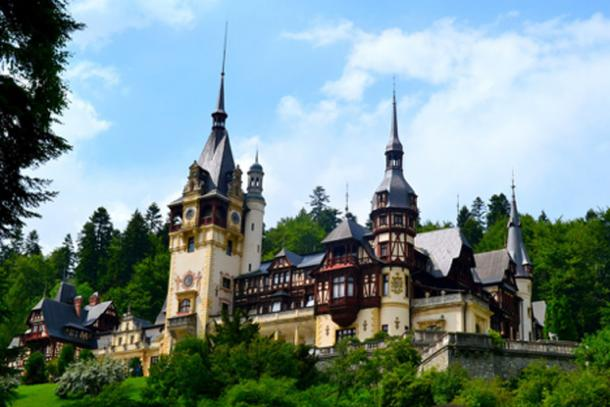 Peleș Castle.