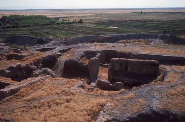 Çatalhöyük at the time of the first excavations.