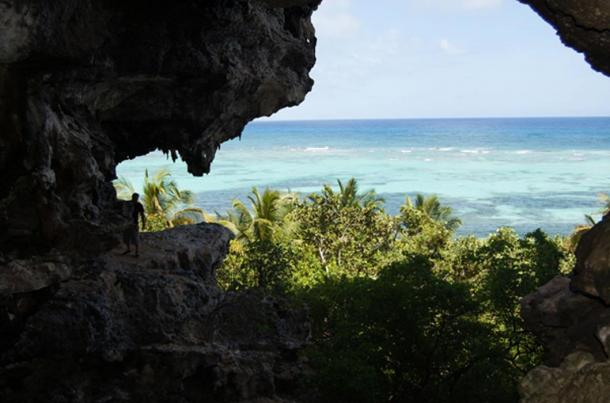 A cave on Mona Island.