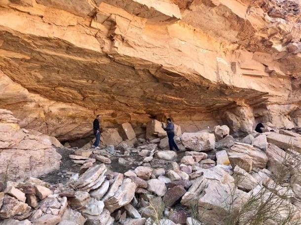The recently documented caves and rock art