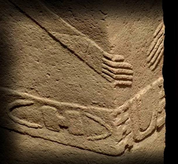 """The center pillars at Göbeklitepe depict the """"H"""" and sun-moon signs"""