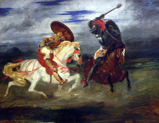 Before chivalry came into existence knights were considered violent brutes and were allowed to plunder